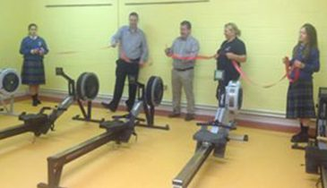 Caritas College rowing machines