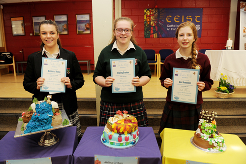 Winning seniors from the Bake Off final.