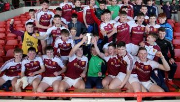 Our Lady's Templemore GAA Team Celebrating