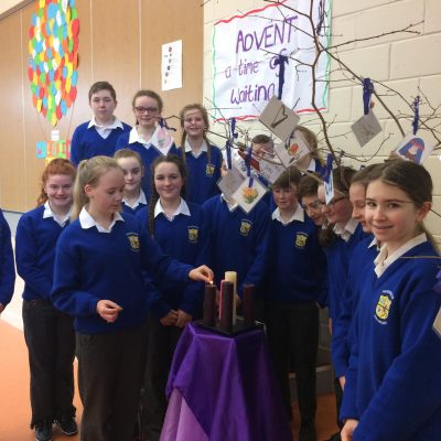 Advent Candle Pres Ballingarry