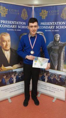 Darragh O'Donoghue IJSO Bronze 2017
