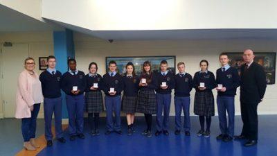 Pres Carlow - JP2 Award Winners