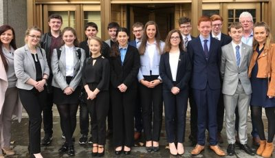 Holy Rosary College Mountbellew - International Mock Trials Competition in New York
