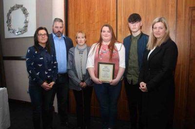 Presentation Ballingarry LCA AWARD