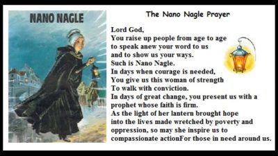 Nano Nagle Prayer